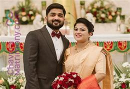 Christian Wedding photos of Jilson Sebastian & Geethu Maria