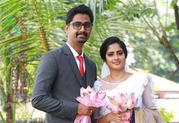 Christian Wedding photos of Rijo & Rosmy