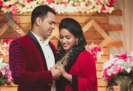 Christian Wedding photos of Tibin & Anusha