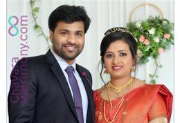 Christian Wedding photos of Dr.Tarun & Dr.Sanjana
